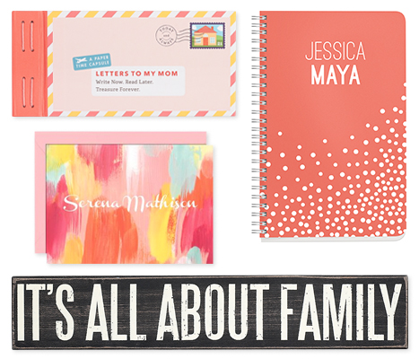 mother's day stationery gifts