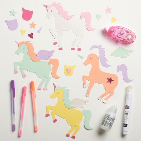 unicorn kit assembled