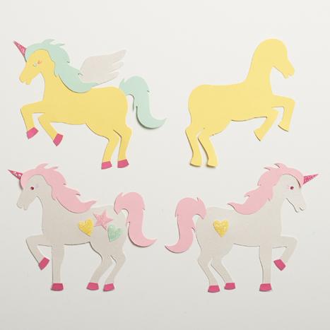 unicorn kit assembled in reverse