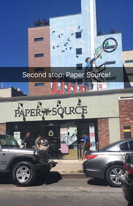Paper Source Store in Cobble Hill