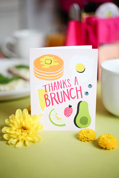 Brunch Card, Paper Source