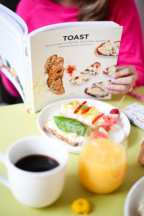 Toast Book, Recipe Book, Paper Source