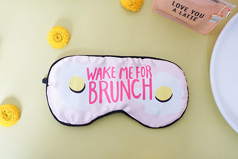 Paper Source Brunch, Eye Mask