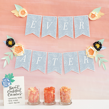 Ever After Bridal Shower Banner