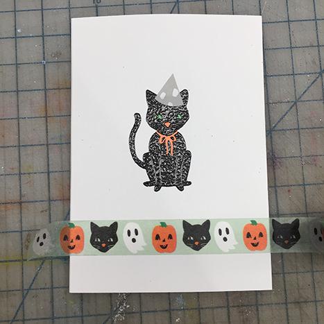 halloween washi tape