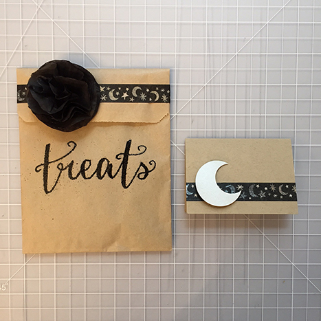 halloween craft bag