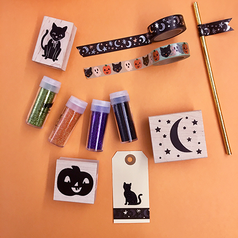 halloween party tags