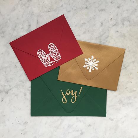 stamp sealed envelope