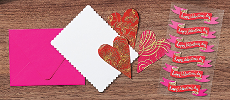 chic valentine cards