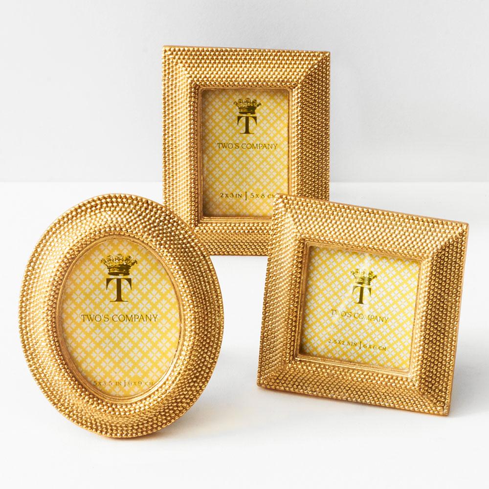 Gold Bead Mini Frames