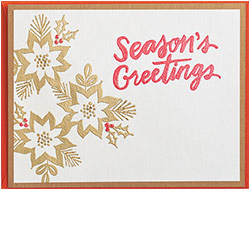 Holiday Flower Card