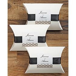 Luxe White Pillow Box