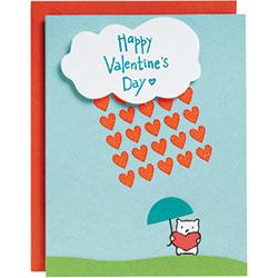 Raining Love Card