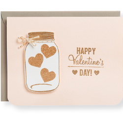 Jar of Hearts Card