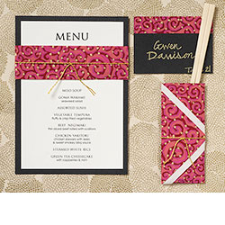 Paper Table Setting