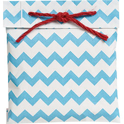 Chevron Bag with Rope