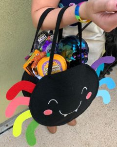 trick-or-treat goodies